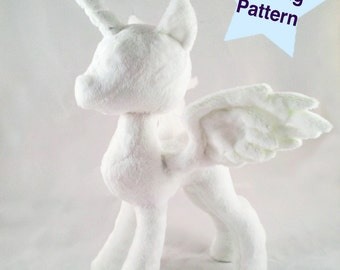 Instant Download Pony Princess Pattern