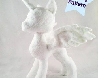 Pony Princess Plushie PDF Sewing Pattern