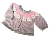 Knitted baby sweater, wool baby vest, baby sweater,knitted baby jacket, Christmas discount, READY TO SHIP