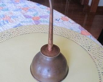 Antique Collectible Metal Oil Tin