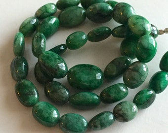 Green Beryl Polished Ovals-Graduated