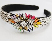 Baroque Jewelry  Rhinestone Headband