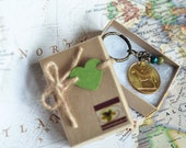 Private Listing for Orla - Two 1986 Irish Coin Keyring Keepsakes