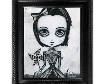 Pinwheel Art Print by Lupe Flores