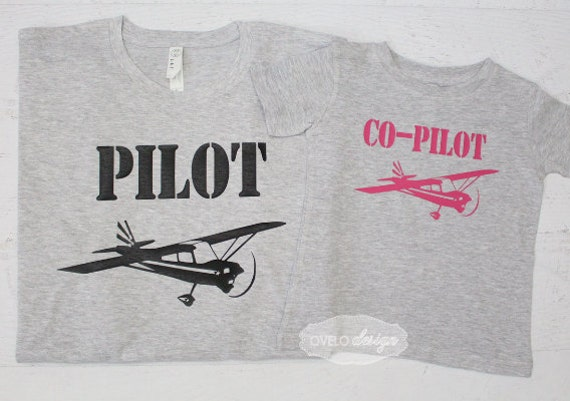 Helicopter Pilot Paper Airplane Co-pilot Family Pick your Aviation and color