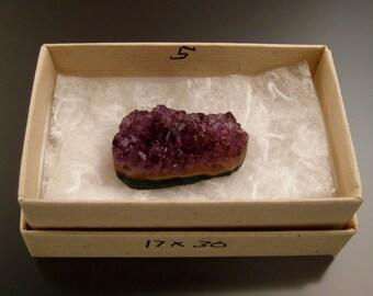 Amethyst Druzy specimen box 5