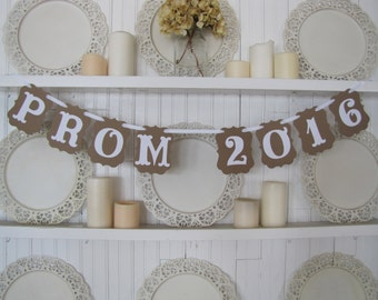 PROM 2016 Photo Prop and Decoration Banner