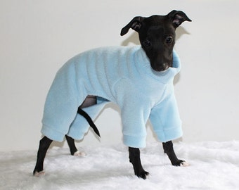 Italian Greyhound Puppy Jammies - for first walks in 3 sizes ( see item details) - various colours available