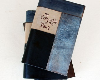 JRR TOLKIEN the Fellowship of the Ring leather bound