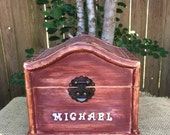 Personalized Toy Box Boy's Toy Box Girl's Toy Box Children's Toy Box Keepsake Box Time Capsule Treasure Chest