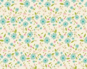 KNIT, Petit Potpourri Azur, Joie de Vivre Collection, Bari J, Art Gallery Fabrics, Stretchy Fabric