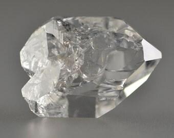 Herkimer Diamond Large Clear Quartz Crystal 32x23mm