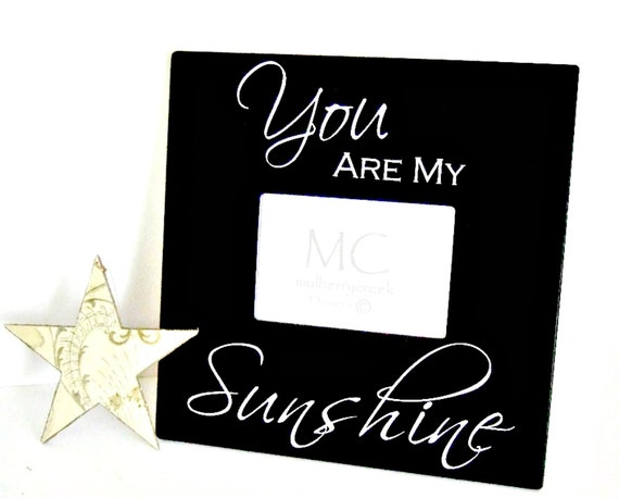 Picture Frame You Are My Sunshine-Photo Frame Sunshine