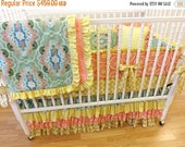 SALE--VALENTINES SALE---- Baby Bedding-----Made to Order------Girl Crib Bedding Set