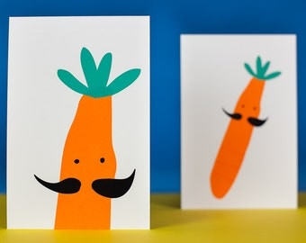 postcards carrots