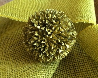Crepe Myrtle Seed Pods Decorative Ball