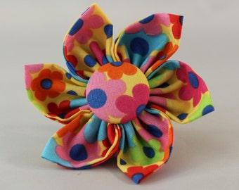 Dog Flower, Dog Bow Tie, Cat Flower, Cat Bow Tie  - Tossed Flowers