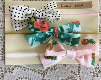 Summer Style Baby Bow Headbands