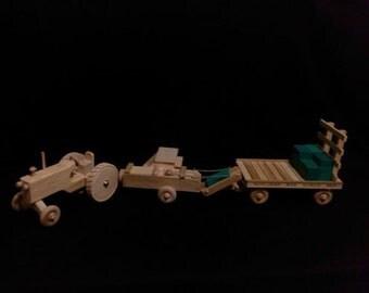 Wooden Toy Baling Set