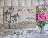 Pretty Vintage Montag PARIS At Twilight STORAGE BOX, French, Shabby Chic