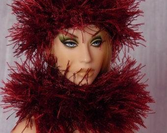 """for 16"""" Doll crochet Grass Set """"Bordo"""" - Tonner Sybarite Gene - AllforDoll STYLE"""
