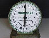Vintage Kitchen Scale Sears Roebuck, 1906 model
