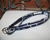 Fabric Lanyard, ID Badge Holder, Star Wars, Star Wars Lanyard, Lobster Clasp and Key Ring - Great for Teachers, Nurses, Students