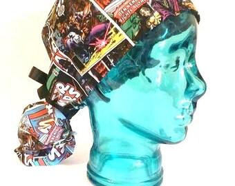 Star Wars surgical scrub hat/ ponytail surgical scrub hat Star Wars scrub cap
