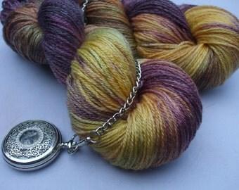 Satin Socks Merino Tencel Mix Yarn. Anna Fulford