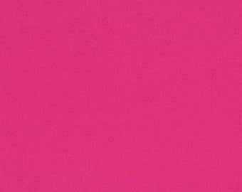 Michael Miller Fabric - Cotton Couture Solids - Raspberry - By The Yard