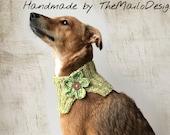 Reserved Listing For Lincy /Dog Clothes, Dog Scarf, Dog Bandana, Dog Flower Girl, Rescue Dog Scarf