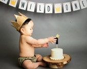 Where the Wild Things Are First Birthday Banner, Sign, 1st, Shower Decor