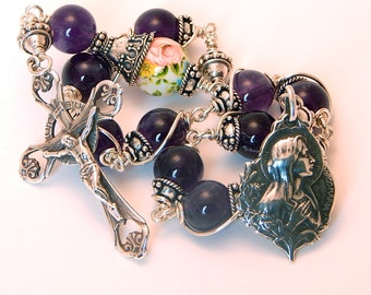 Unbreakable single Decade Rosary of The Virgin Mary