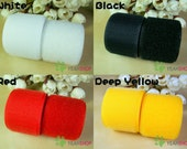 30mm Sew on Velcro Hook & Loop Tape - 100% Nylon - 1 Meter - 4 Colors Available