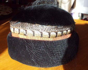 Vintage 1930's 30's 1940's 40's Hat by Patrice
