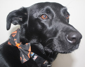 Baltimore Orioles Dog Bow/Bow Tie Accessory