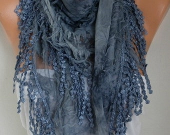 Ombre Butterfly Scarf Christmas Gift Fringe Scarf Cowl Scarf Gift Ideas For Her Women's Fashion Accessories best selling items