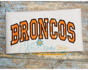 Broncos Arched