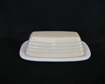 Pfaltzgraff Cappuccino Covered Butter Dish
