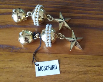Earrings Moschino clips