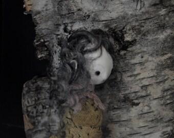 OOAK Art Doll- Woodland Daughter- Faunia