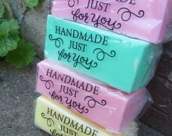bath and body soap samples. set of 4. bath, beauty, glycerin soap, soap samples, soap, normas bath