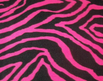 Pink Zebra! Fleece blanket