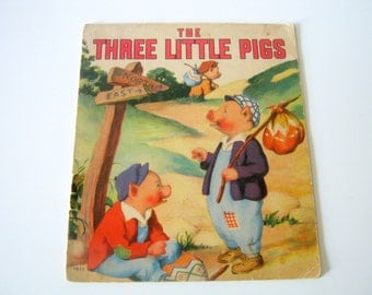 Vintage The Three Little Pigs