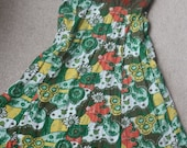 Pretty tropical sun dress uk 12 White Stuff