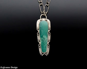 Emerald Isle - Chrysoprase Sterling Silver Necklace