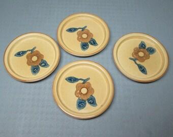 Pfaltzgraff America 4 coasters pottery