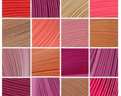 "13 Packs (Shades of Pink) 350 Strips. Culture Pop Premium Solid Color Quilling Paper Strips. 17"" Long. 1/8 1/4 1/2 inches 3 6 mm"