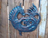 Seahorse Sculpture - Outdoors