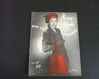 Mary Lamb Bags and Accessories Crochet and Knitting Patterns